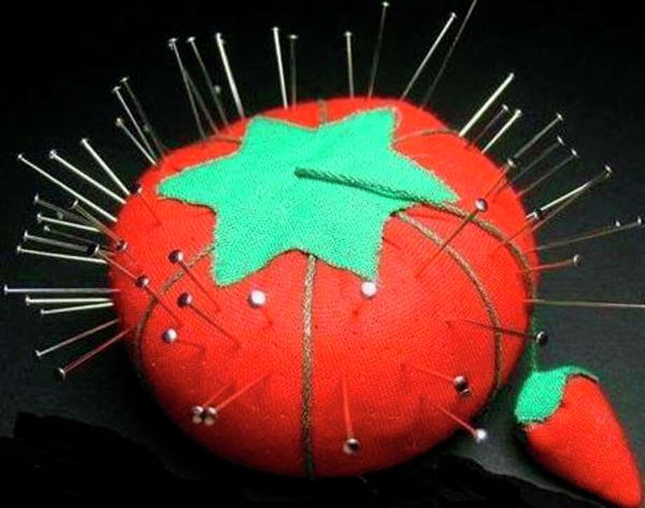 My grandmother and mother each had an ugly little pincushion that looked like a refuge from a radiation test site.