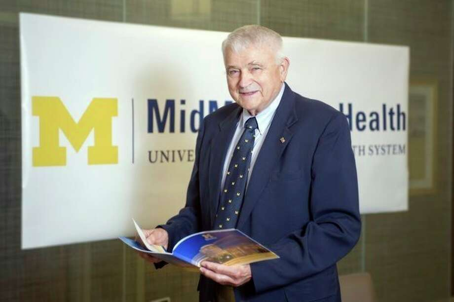 Dr. Charles Sanislow recently retired as medical director of the Vascular Lab at MidMichigan Medical Center - Midland, concluding 54 years of service. (photo provided)