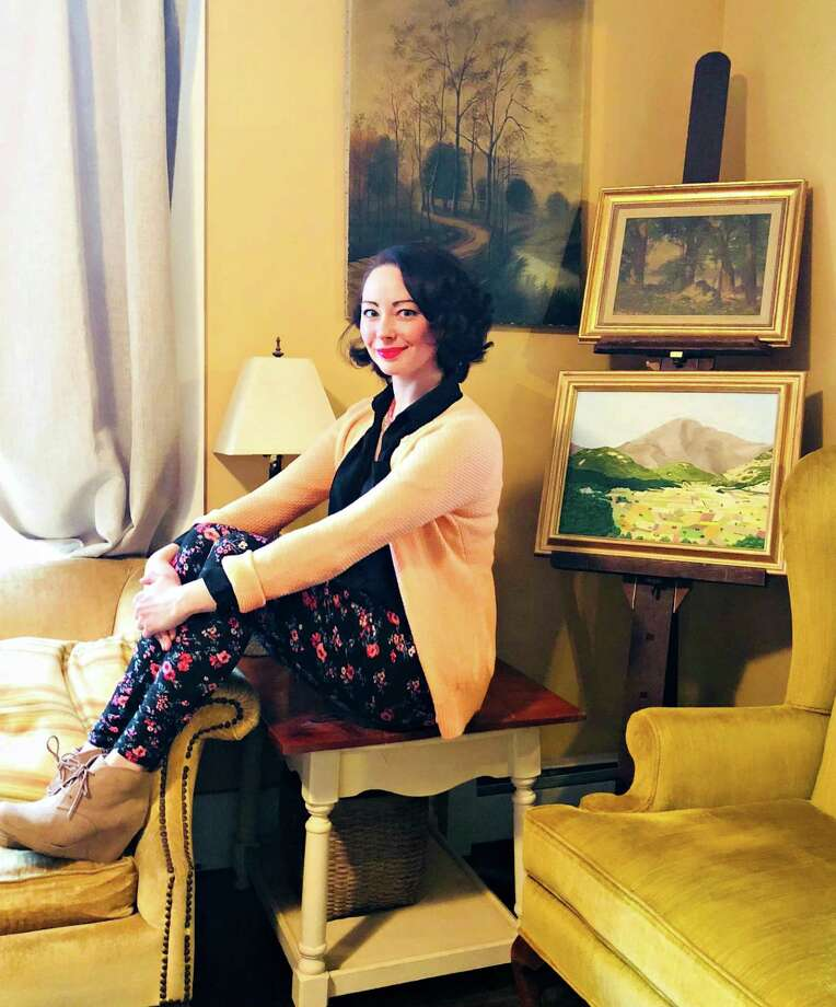 """The Connecticut Spring Show March 23 and 24 at the Hartford Armory will feature a talk by artist, furniture designer Kate Avery, who will talk about """"Fresh Design With Antiques."""" The event is a fundraiser for the Haddam Historical Society. Photo: Contributed Photo"""