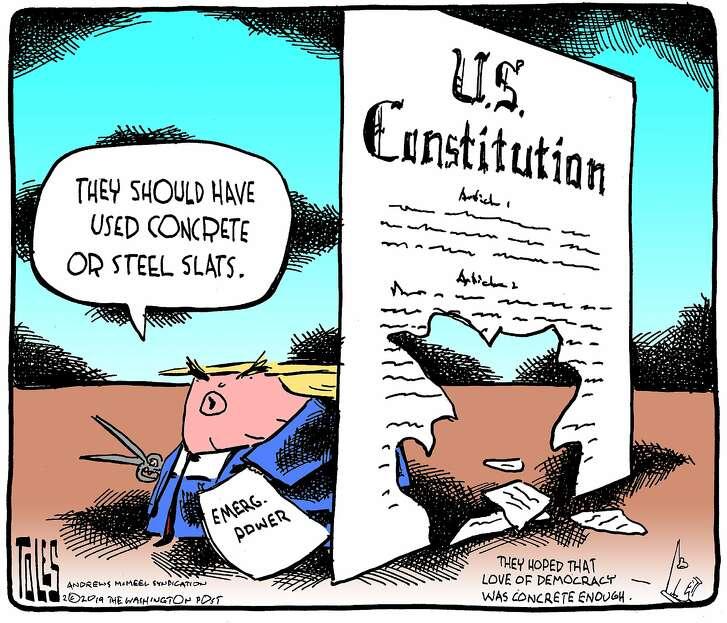 Tom Toles cartoon