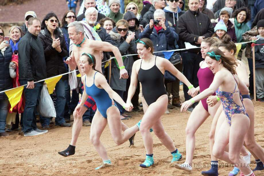 The annual Special Olympics Connecticut Penguin Plunge in Middletown is set for March 2 at the Pavilion at Crystal Lake. Photo: Contributed Photo / (c)DE KINE PHOTO LLC