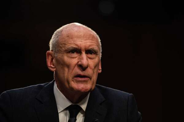 Director of National Intelligence Daniel Coats testifies to the Senate Intelligence Committee on Tuesday, Jan. 29, 2019, in Washington.