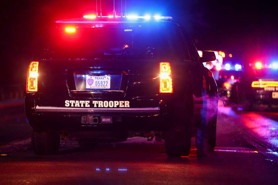 Texas DPS troopers investigate a head-on collision that resulted in one fatality on Tuesday, Jan. 16, 2018, off of Texas 105 near Willis-Waukegan Road in Cut and Shoot.