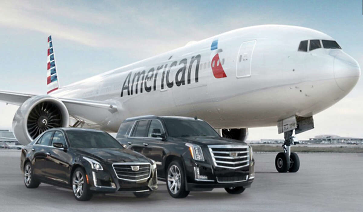 Helicopter transfers include a ride to or from your plane in a Cadillac.