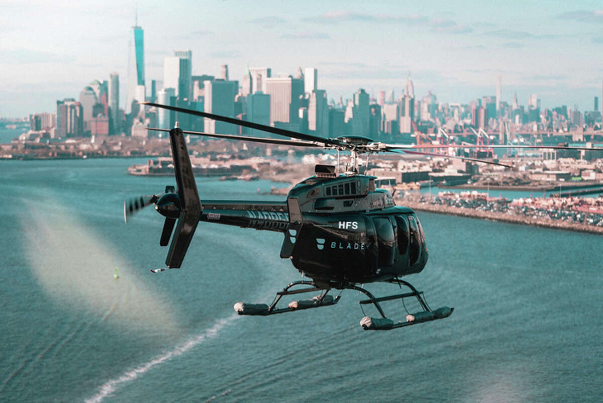 American Airlines is using helicopter service provider Blade to offer transfers to and from LAX and JFK.