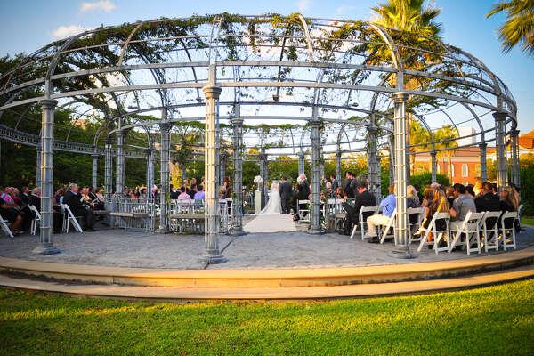 Ashton Villa's Harris Garden creates a stunning event atmosphere.