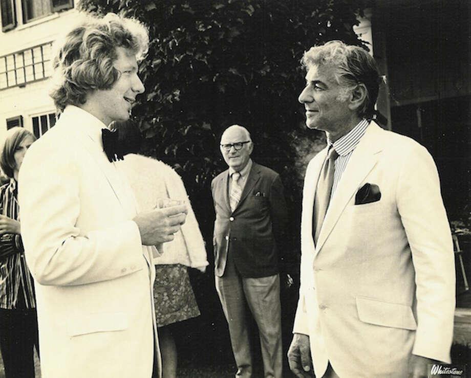 Meeting Leonard Bernstein at the Berkshire Music Center, Tanglewood, summer of 1971.