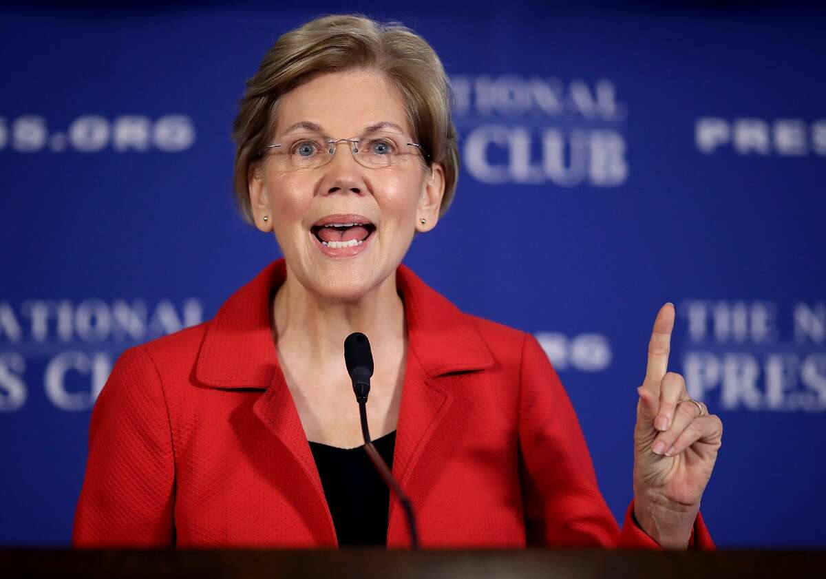 Who is 2020 presidential candidate Elizabeth Warren? Description: Massachusetts Sen. Elizabeth Warren was one of the first politicians to announce she would be running in the 2020 presidential election. Here's what you need to know about the lawyer and finance expert turned Democratic senator, including her background and her platforms.