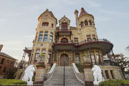 Galveston's grandest and best-known building, the Bishop's Palace is an ornate delight of colored stone.
