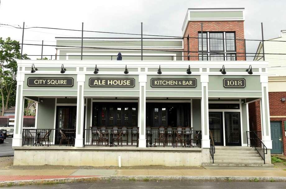 Exterior of City Squire Ale House on Thursday, June 28, 2018 in Schenectady, N.Y. (Lori Van Buren/Times Union) Photo: Lori Van Buren / 20044217A