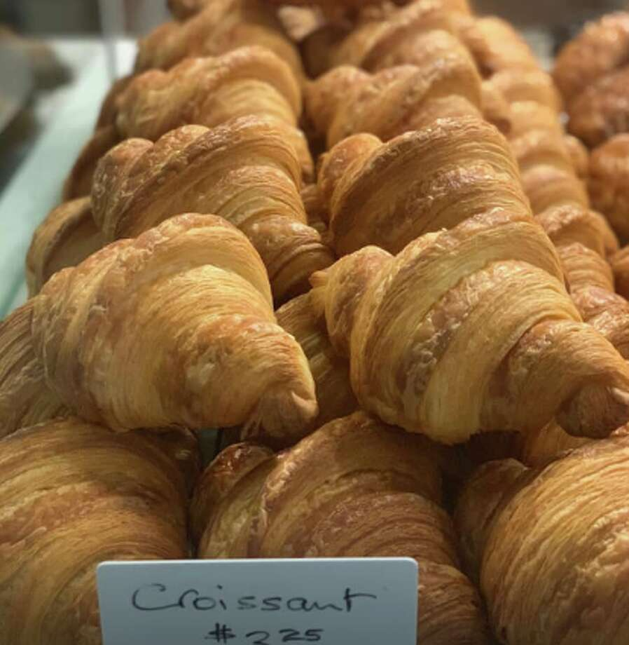 Croissants at Patisserie Rotha in Albany. Photo: Patisserie Rotha
