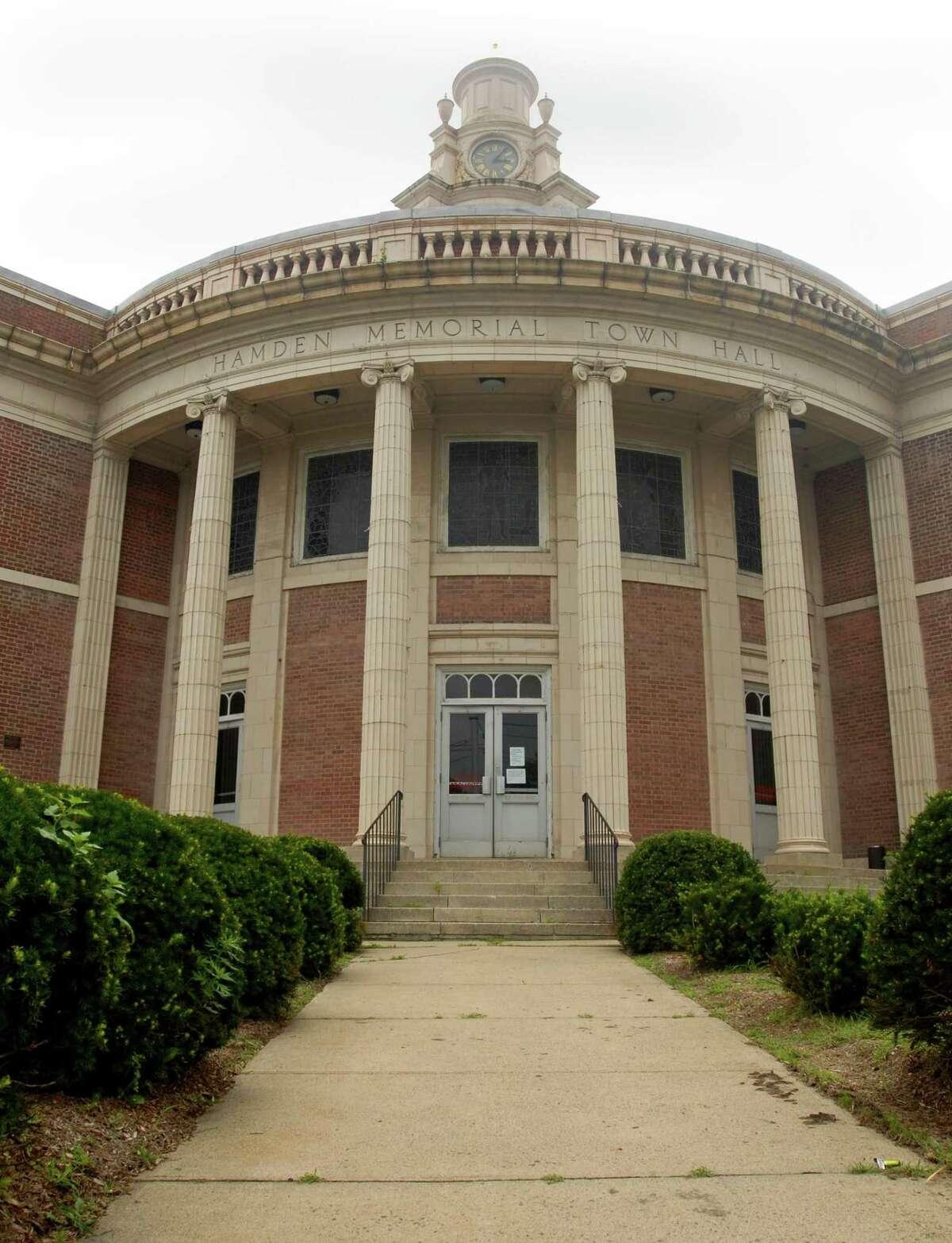 Hamden Memorial Town Hall.