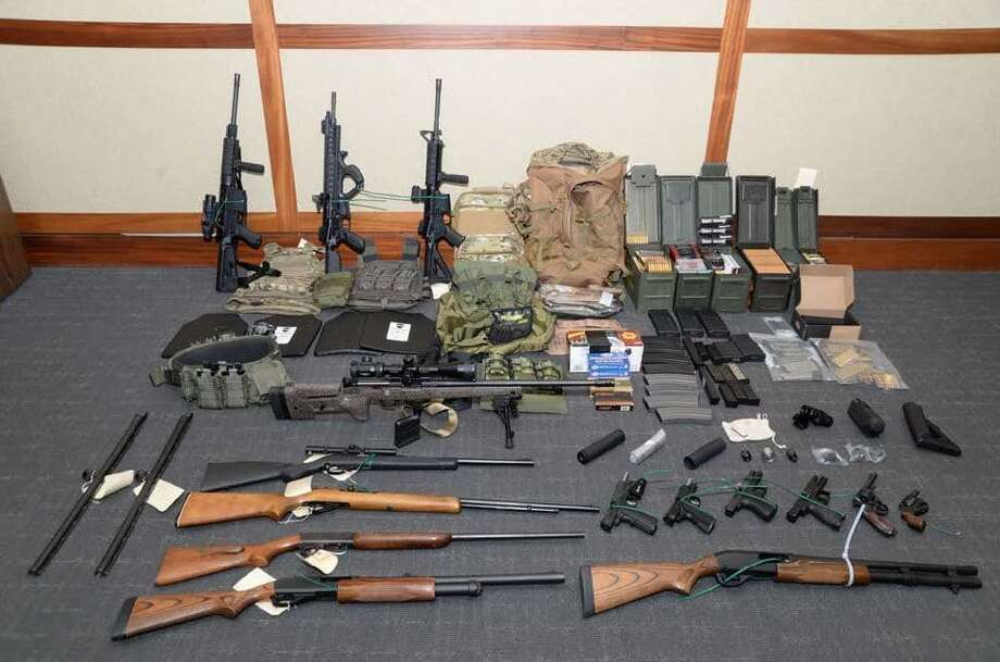 "Christopher Paul Hasson called for ""focused violence"" to ""establish a white homeland"" and dreamed of ways to ""kill almost every last person on earth,"" according to court records. Photo: U.S. Attorney's Office In Maryland"