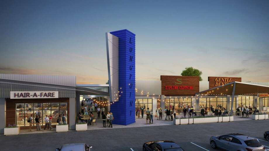 Braun Enterprises will start a renovation of Spring Branch Village, a 70,000-square-foot shopping center at 8141 Long Point. The work will begin in 60 to 90 days with completion planned at the end of 2019. Photo: Braun Enterprises