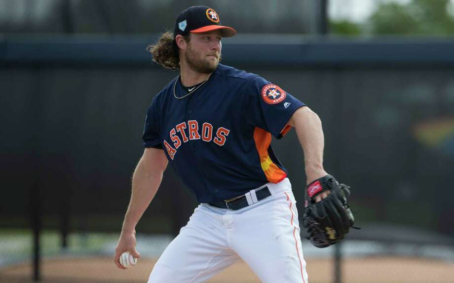 PHOTOS: How Astros players spent their offseason Astros righthander Gerrit Cole is a free agent at season's end. He refuted a report Friday that he and the Astros are involved in contract negotiations. Photo: Yi-Chin Lee, Staff Photographer / © 2019 Houston Chronicle