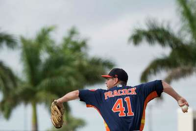 Neck issue sets back Astros' Brad Peacock