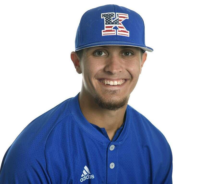 Kansas baseball player Jaxx Groshans Photo: Kansas Athletics