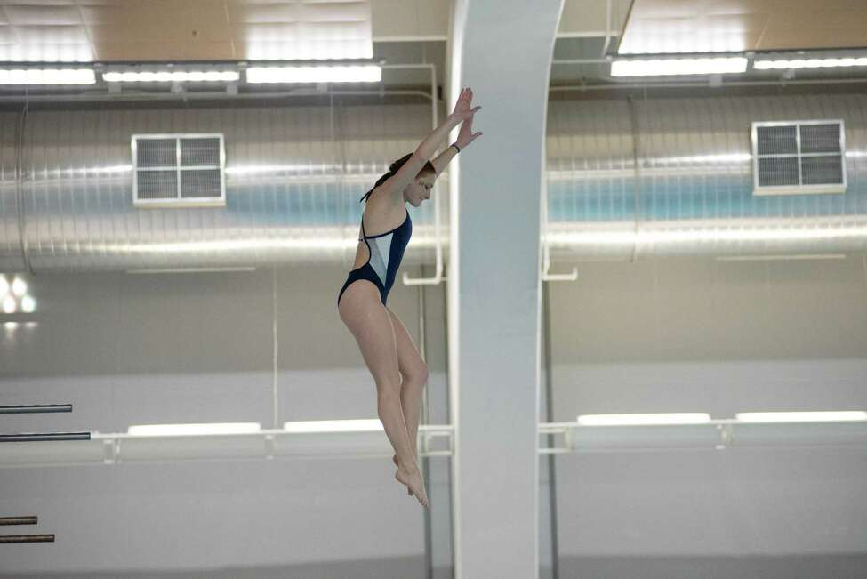 Albany Academy for Girls graduate Allison Stefanelli of the New Hampshire swim team. (Courtesy of New Hampshire)