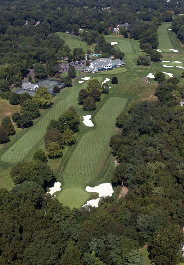 Holes 17 and 18 at Brooklawn Country Club in Fairfield. Brooklawn has been awarded the 2020 U.S. Senior Women's Open by the USGA. February, 20, 2019. Photo: USGA / Contributed Photo / Stamford Advocate Contributed