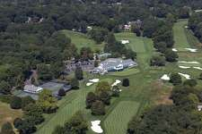 Holes 17 and 18 at Brooklawn Country Club in Fairfield. Brooklawn has been awarded the 2020 U.S. Senior Women's Open by the USGA. February, 20, 2019.