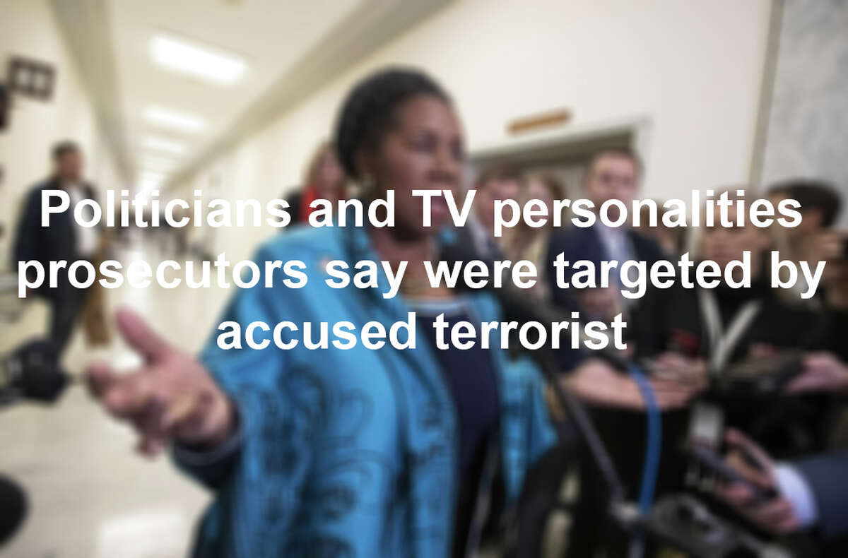 Here are the politicians and TV personalities identified by federal prosecutors as targets for attack by a U.S. Coast Guard lieutenant and self-identified white nationalist.