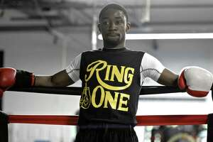 Boxer Tramaine Williams, shown here in 2015,