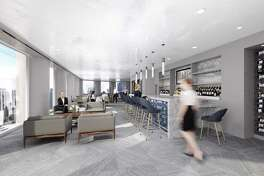 Strato 550 is a new lunch restaurant and conference center on the 43rd floor of 1415 Louisiana in downtown Houston.