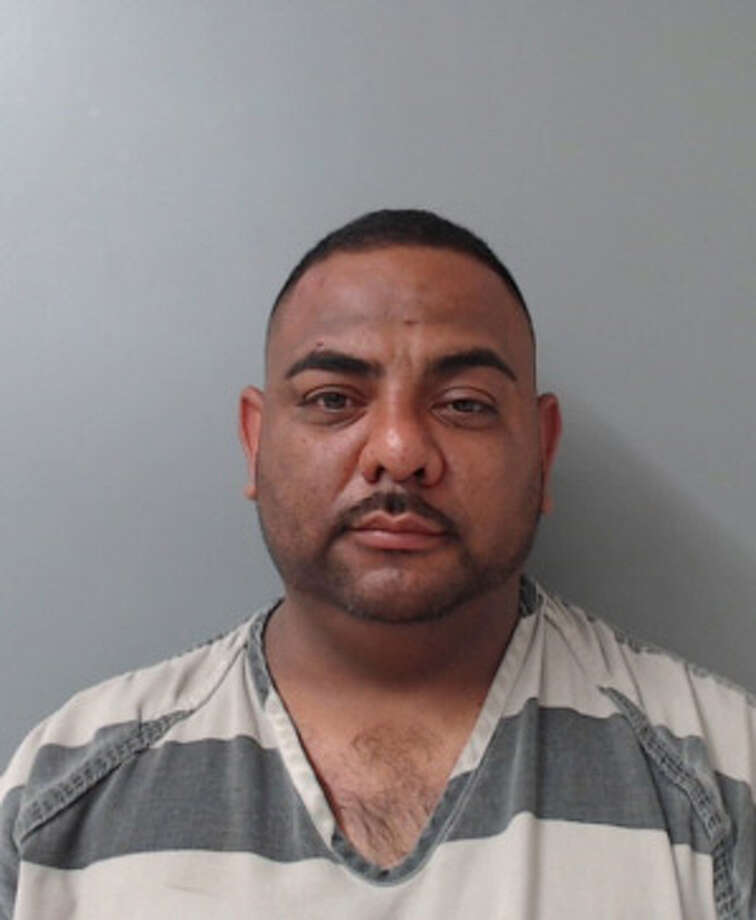 Gerardo Ornelas, 36, was charged with aggravated assault with a deadly weapon and resisting arrest. Photo: Webb County Sheriff's Office