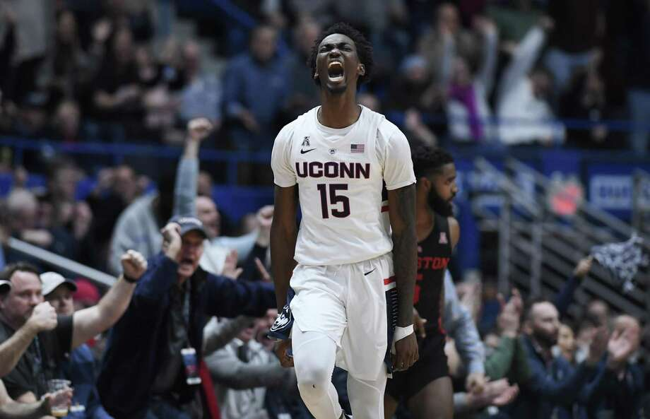 UConn's Sidney Wilson. Photo: Jessica Hill / Associated Press / Copyright 2019 The Associated Press. All rights reserved
