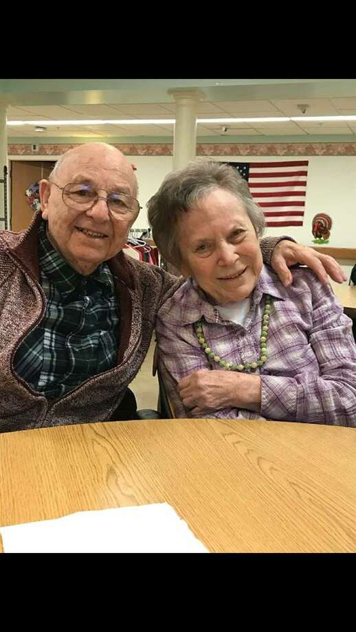 Warren and Joan Chapple on their 70th wedding anniversary in November. (contributed photo)