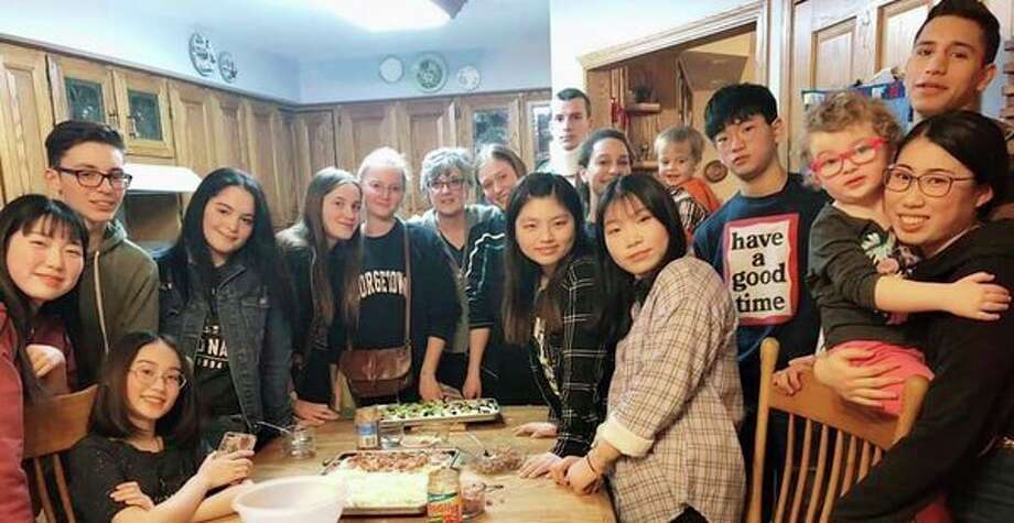 Foreign exchange students will take part in Tables for Tips Monday, Feb. 25 at Pizza Hut in Bad Axe. (Submitted Photo)