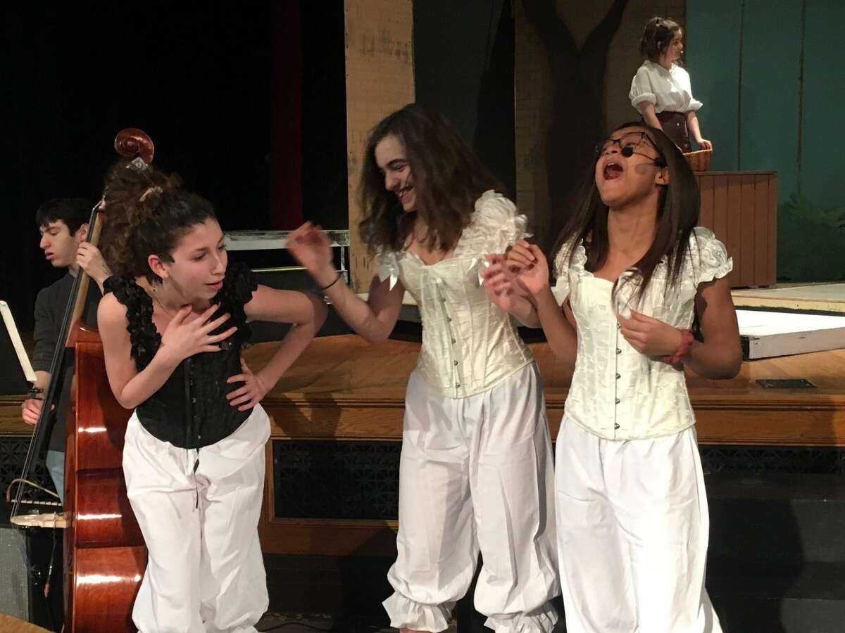 """Rehearsals for The Albany Academies production of """"Into the Woods."""""""