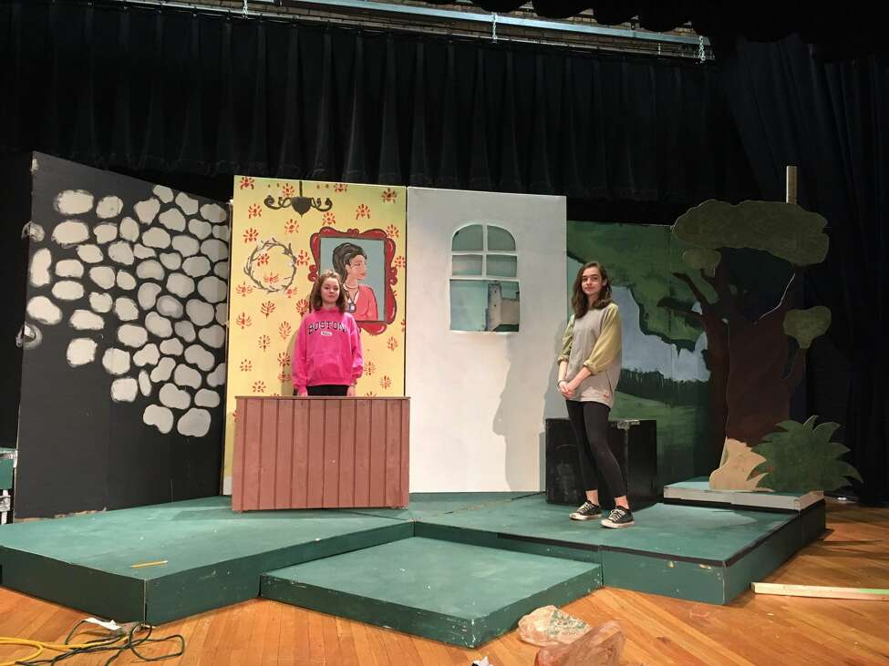 Rehearsals for The Albany Academies production of