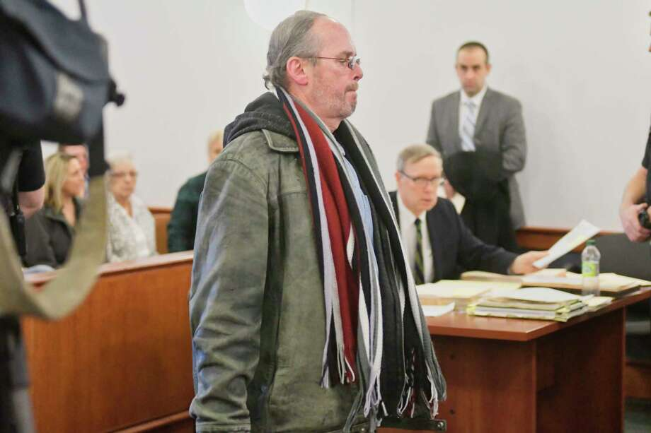 David Hempstead appears in Troy City Court on Thursday, Feb. 21, 2019, in Troy, N.Y. Hempstead and his wife, Michele Hempstead,  are being charged with hoarding animals at a home on Campbell Avenue.   (Paul Buckowski/Times Union) Photo: Paul Buckowski, Albany Times Union / (Paul Buckowski/Times Union)