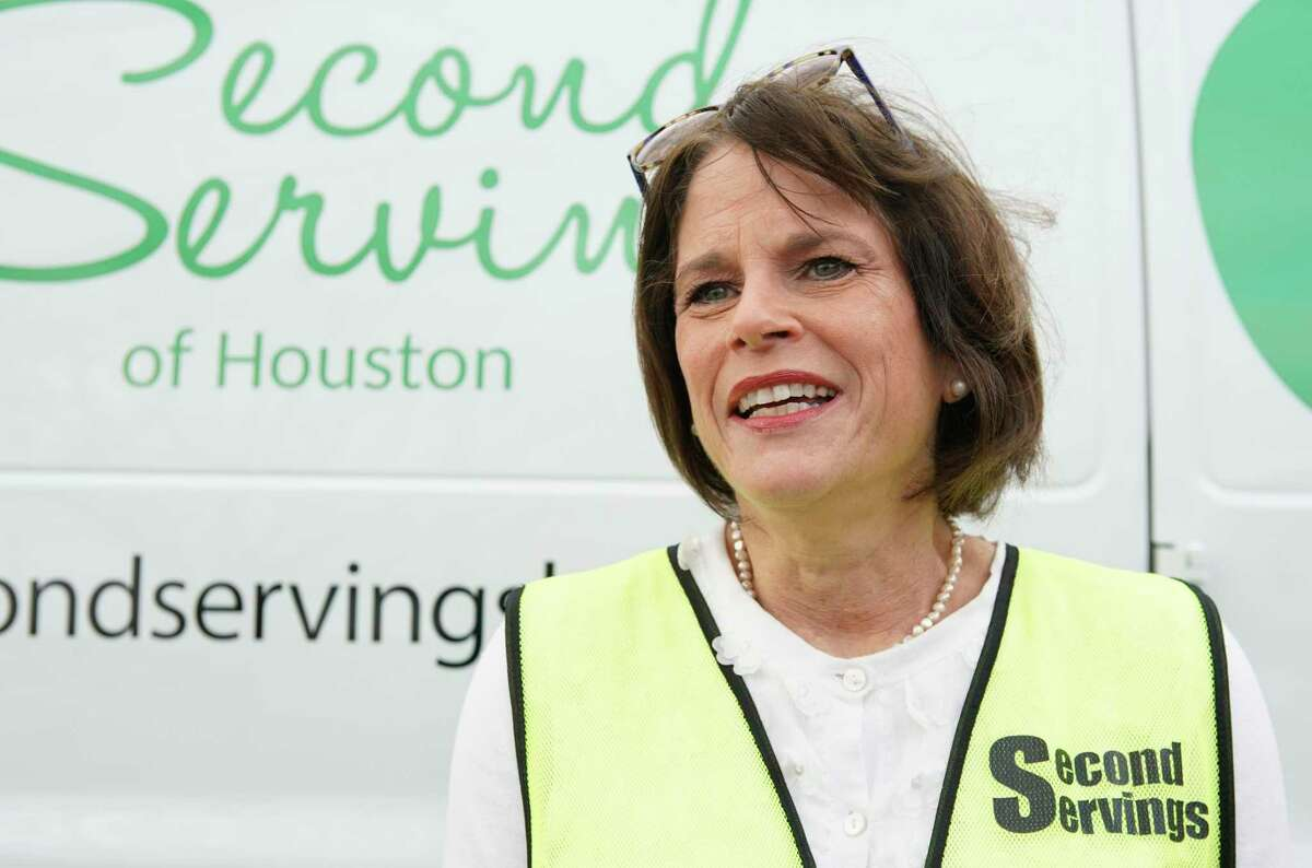 Barbara Bronstein, founder and president of Second Servings, helped launch Dinner's on Us, a new food distribution project during the pandemic.