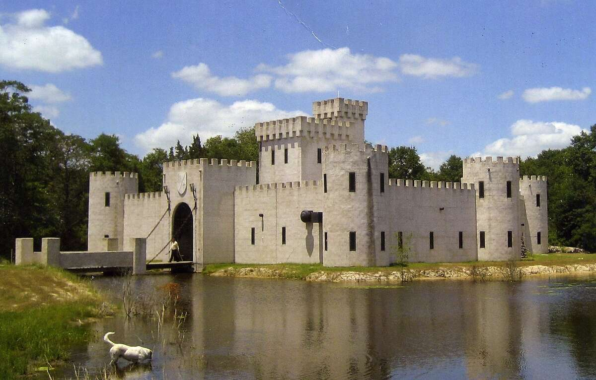 These 30 unusual Texas destinations show why this state attracts travelers Newman's Castle in Bellville, Texas. Owner Mike Newman built this Medieval-style castle in the late 1990s.