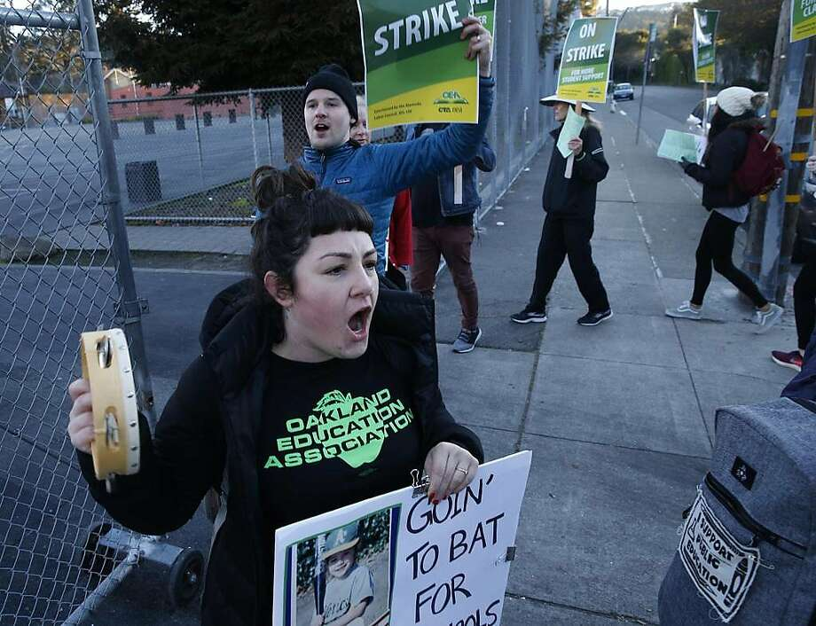 Opinion: What's behind the teacher strikes: Unions focus on social justice, not just salaries