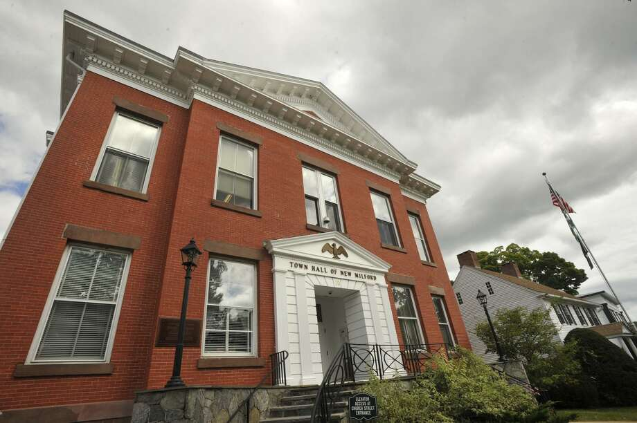 File photo of the New Milford Town Hall. Photo: Jason Rearick / Jason Rearick / The News-Times