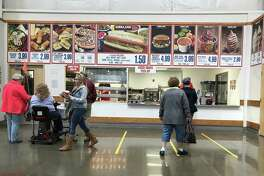 So there it is, folks. We can still praise the red, white and blue wholesomeness of Costco. But if you must shop and eat at the same time, we suggest you save your appetite for Ikea.