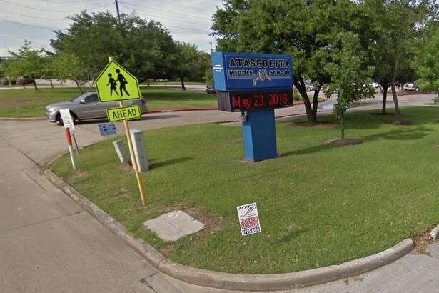 Atascocita Middle School is seen on Google Street View.