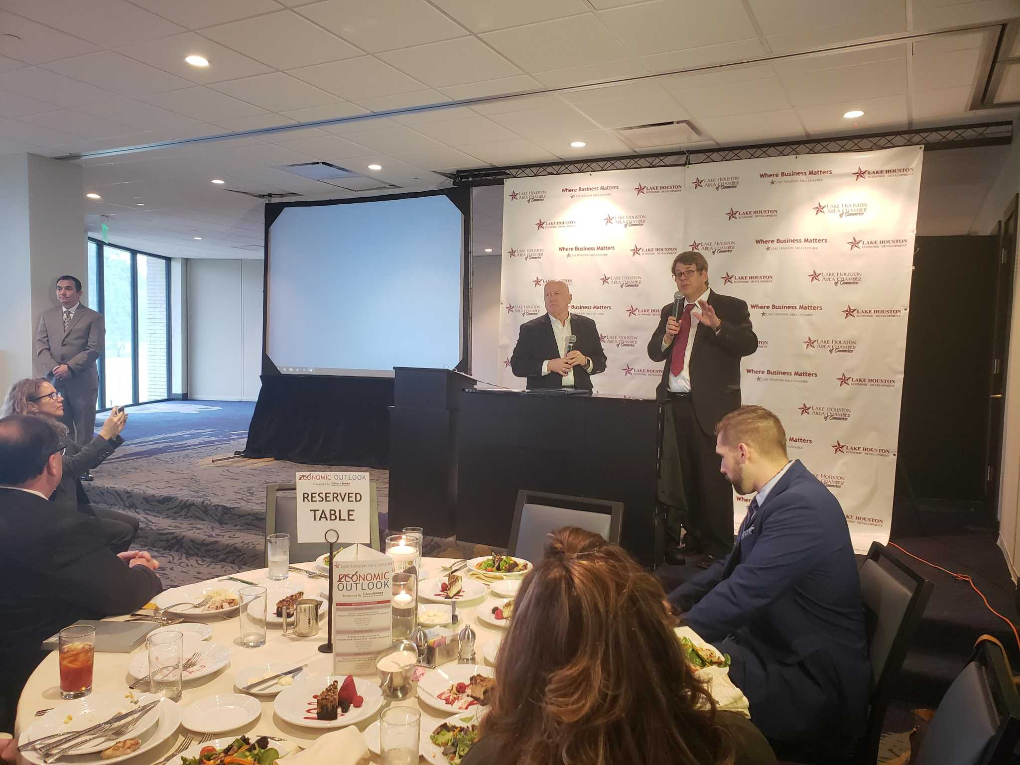 Lake Houston area business leaders told Houston's economy is in its 'best shape since 2014'