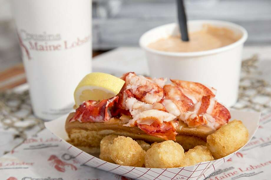 A lobster roll from Cousins Maine Lobster. Photo: Contributed Photo