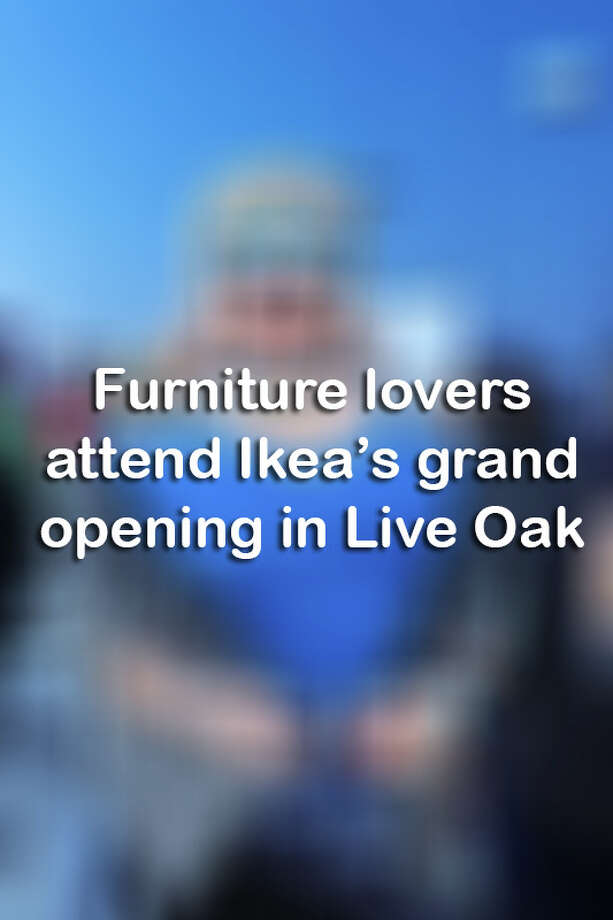 Click through for a look at the San Antonio-area residents who attended Ikea's grand opening in Live Oak.  Photo: Stacey Lovett For MySA.com