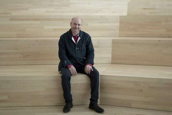 Craig Dykers, architect and founding partner of Snøhetta, poses for a portrait at the San Francisco Museum of Modern Art on April, 28, 2016 in San Francisco, Calif. The SFMOMA was designed in partnership with architecture firm Snøhetta.