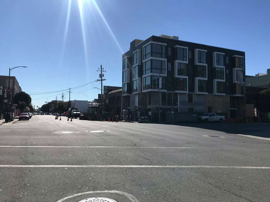 The intersection of Bryant and 7th streets were cleared after a reported gas leak. Photo: San Francisco Fire Department