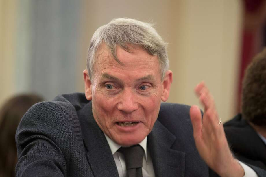 "Physicist William Happer, 79, has claimed carbon emissions have been demonized like ""poor Jews under Hitler."" Photo: Stephen Crowley / New York Times 2015"