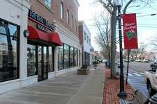 The Fairfield University Bookstore in downtown Fairfield. The town's grand list grew by 0.91 percent in 2018, the highest percentage growth since 2007.