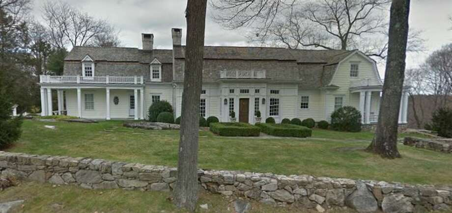 453 Laurel Road in New Canaan sold for $2,650,000. Photo: Google Street View
