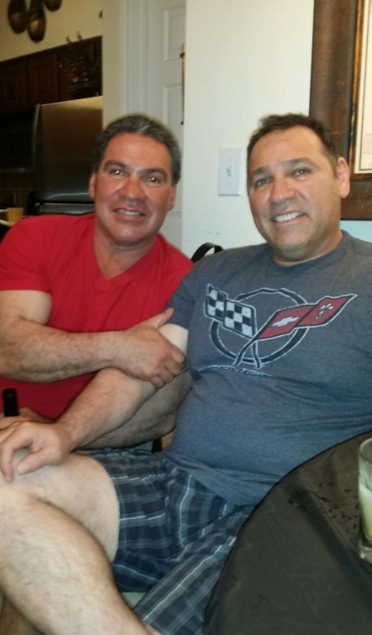 Luis Robles (left), a 56-year-old Pasadena man, was killed last week after an alleged drunk driver crashed into his car. He was described by his brother Robert (right) as a man who enjoyed simply pleasures, like watching football and arm wrestling with family.