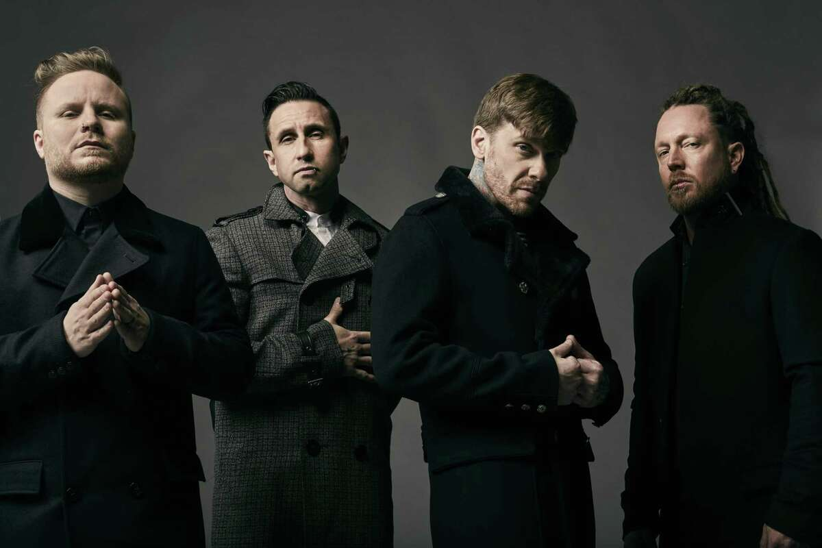 """SHINEDOWN: Re-formed Florida rock band Shinedown will headline at Mohegan Sun Arena on March 2 at 7 p.m. as part of their Attention Attention Tour. The group recently produced the empathetic anthem """"Get Up."""" Tickets are $38.50-$58.50 at mohegansun.com."""